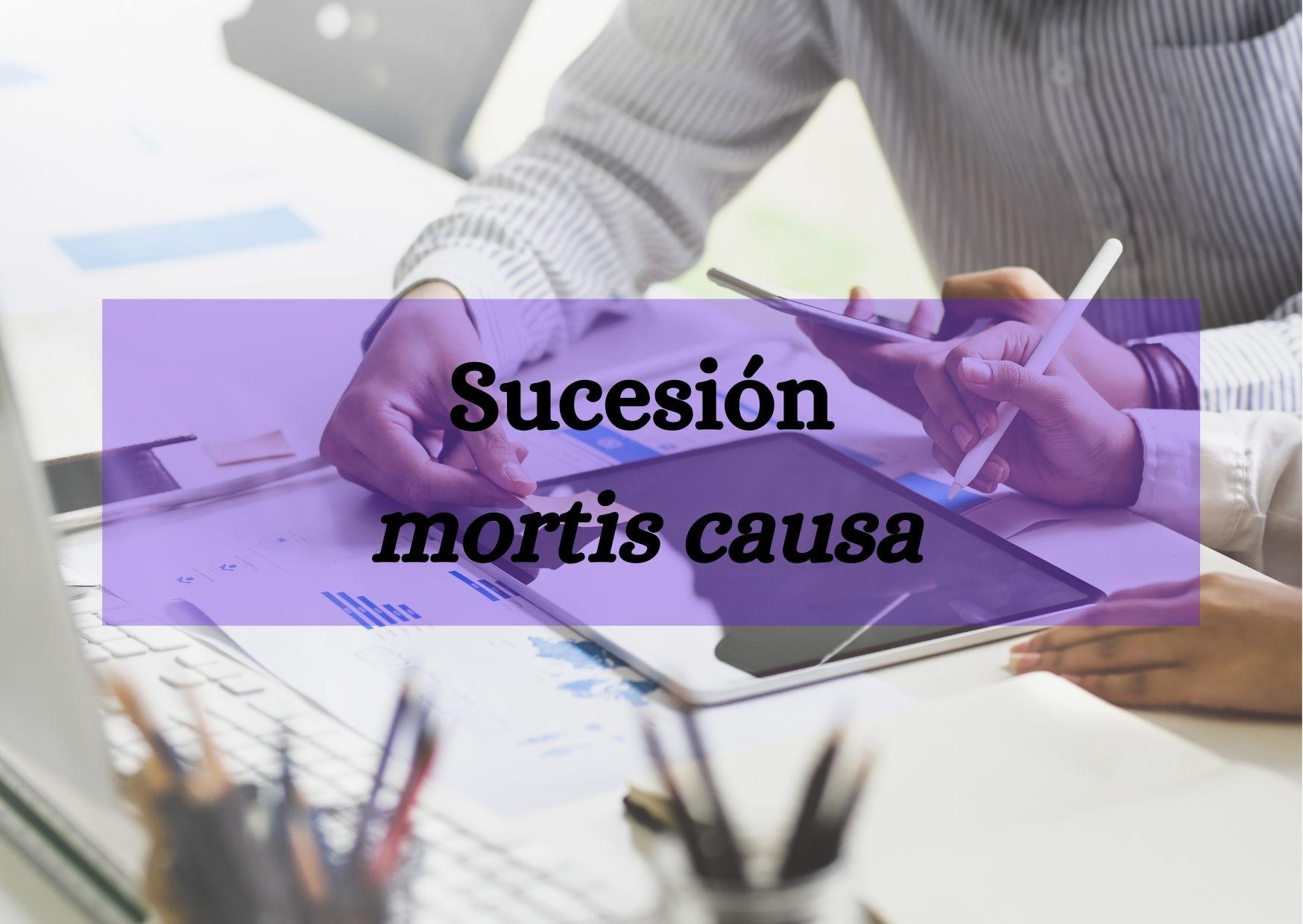 Sucesión mortis causa